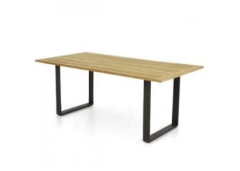 Обеденный стол Apple Bee Condor 190 x 95 Natural/Black