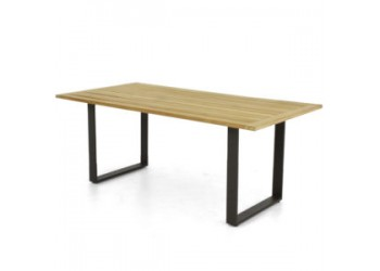 Обеденный стол Apple Bee Condor 240 x 95 Natural/Black