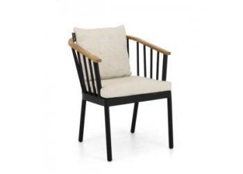 Обеденный стул Apple Bee Condor 60 x 64 Black/Natural