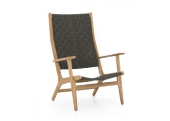 Кресло Apple Bee Luc 78 х 81 Natural/Charcoal