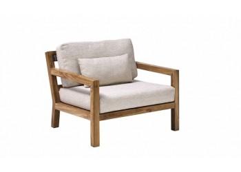 Кресло Apple Bee Olive 90 x 87 White Wash/Natural Oak