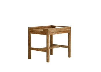 Сервировочный стол Apple Bee Olive 60 x 40 White Wash