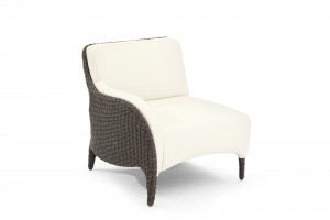 Кресло с левым подлокотником модульного дивана Luxor L45