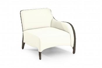 Кресло с правым подлокотником модульного дивана Luxor L47