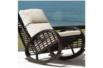 Кресло-качалка с подушкой Bogota
