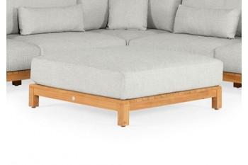 Подушка для кофейного столика SUNS Kota 110 х 110 Matt royal grey/Matt white