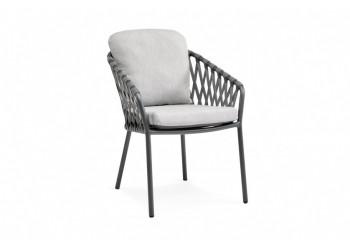 Обеденный стул SUNS Nappa 73 х 60 Matt royal grey/Carbon grey/Carbon light grey