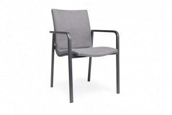 Обеденный стул SUNS Anzio 57 х 56,5 Matt royal grey/Forest green