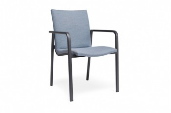 Обеденный стул SUNS Anzio 57 х 56,5 Matt royal grey/Navy blue