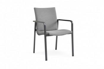Обеденный стул SUNS Anzio 57 х 56,5 Matt white/Forest green
