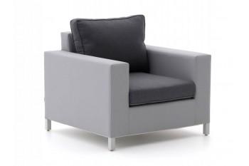 Кресло SUNS Vales 87 х 90 Matt white/Taupe/Grey