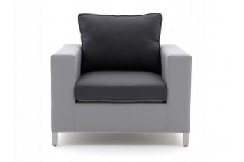 Кресло SUNS Vales 87 х 90 Matt royal grey/Black grey/Anthracite