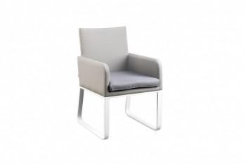 Обеденный стул SUNS Cordoba 63 х 58 Matt white/Taupe grey