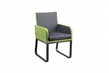 Обеденный стул SUNS Cordoba 63 х 58 Matt royal grey/Black grey/Anthracite
