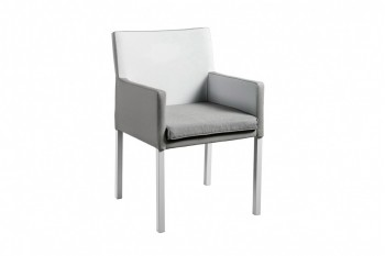 Обеденный стул SUNS Antas 58 х 58 Warm light grey/Inside white grey/Taupe grey