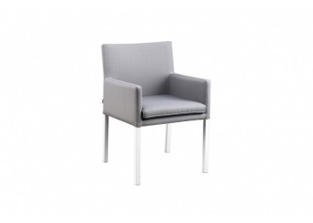 Обеденный стул SUNS Antas 58 х 58 Matt white/Black grey/Anthracite