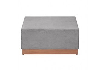 Кофейный стол Apple Bee Crete 70 x 70 Grey/Natural