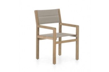 Обеденный стул Apple Bee Del Mar 56 х 58 Coastal/Taupe