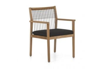 Обеденный стул Apple Bee La Croix 59 х 58 Natural/Black