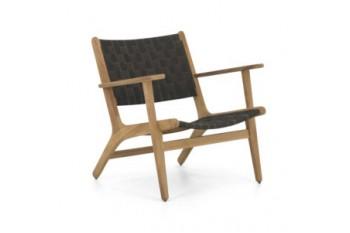 Кресло Apple Bee Luc 78 х 74 Natural/Charcoal
