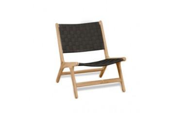 Кресло Apple Bee Luc 63 х 74 Natural/Charcoal