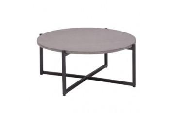Кофейный стол Apple Bee Soul 74 х 74 Grey/Black