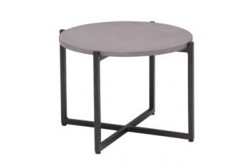 Кофейный стол Apple Bee Soul 54 х 54 Grey/Black