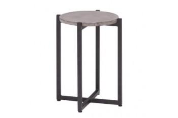 Кофейный стол Apple Bee Soul 34 х 34 Grey/Black