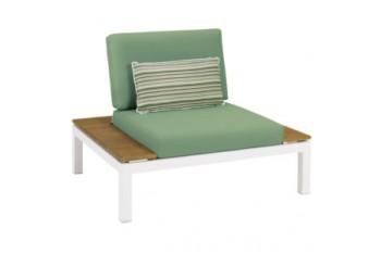 Кресло Apple Bee Pebble Beach 105 х 87 White/Antique