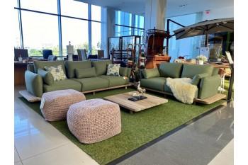 Комплект для отдыха SUNS Bora | Forest Green mixed weave