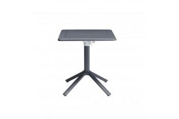 Обеденный стол SCAB ECO 70 x 70 Белый/Коричневый/Антрацит