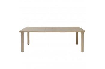 Обеденный стол SCAB PER 3 170-220 x 100 Белый/Коричневый/Антрацит