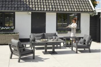 Комплект для отдыха LIFE OUTDOOR Living TIMBER 394 х 185 Белый/Серый/Антрацит