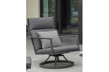 Вращающееся кресло LIFE OUTDOOR Living MAROON 67 x 88 Антрацит/Серый