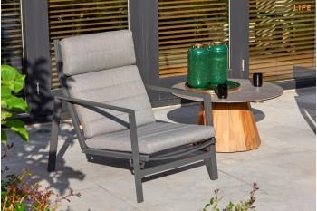 Кресло-реклайнер LIFE OUTDOOR Living BONDI 66 x 86 Антрацит/Серый