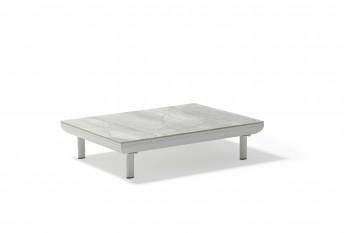 Кофейный столик COUTURE CLUB 101 х 77 Серый