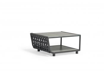 Кофейный столик COUTURE HUG 81 х 71 Антрацит