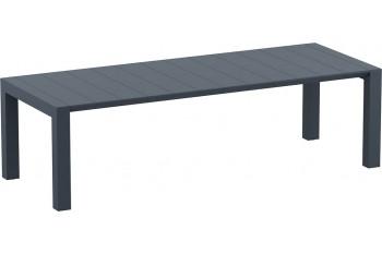 Обеденный стол SIESTA VEGAS XL (dark grey)
