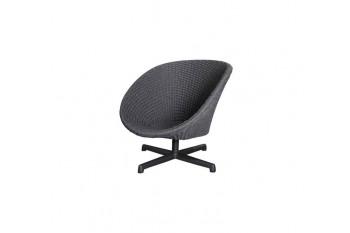 Кресло поворотное Cane line Peacock 5458RODGSWB