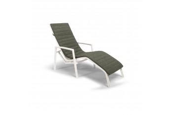 Кресло-шезлонг Tierra Outdoor WAVE (White/Green)