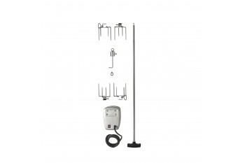 Вертел с 4-мя зажимами и электромотором для моделей 405/450/485/500