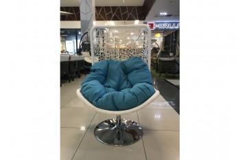 Поворотное кресло Islands Samoa White