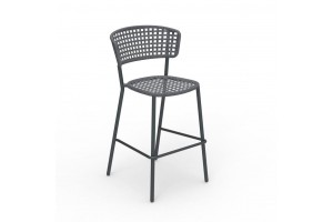 Барный стул Talenti MOON ALU BAR STOOL (MONALUSGA)