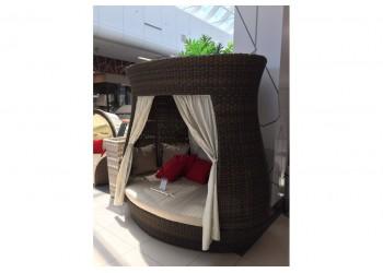 Кровать с навесом высокая Luxor L52