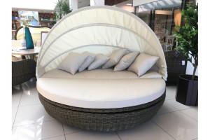 Кровать с навесом круглая вращающаяся Luxor L53