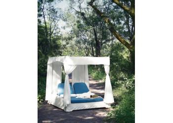 Двойная кровать с навесом Art Style ART 80 (Tasman)